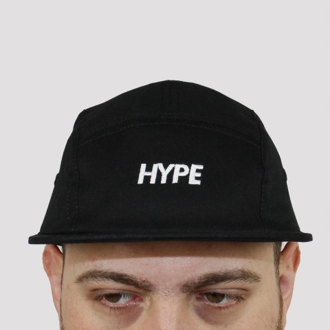 Boné Hype Five Panel - Preto