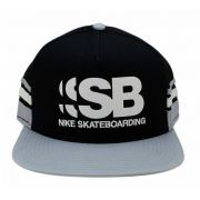 Boné Nike SB Cut Trucker Preto/Cinza