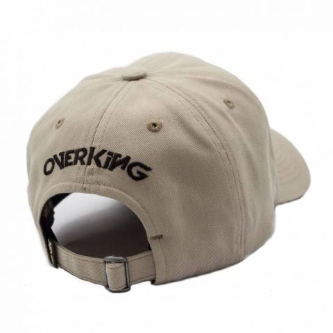 Boné Overking Dad Hat Rosa Punhal Old School Caramelo