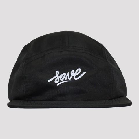 Boné Save Five Panel Logo Refletivo - Preto