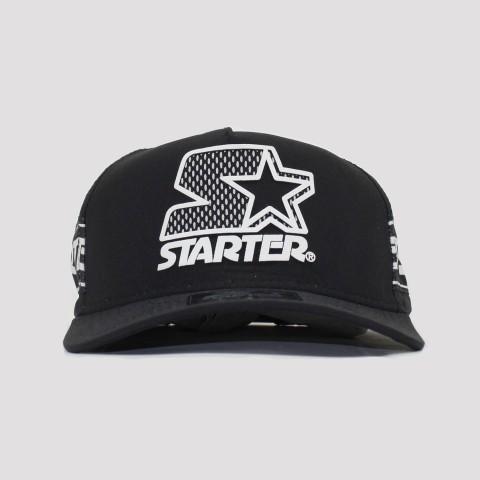 Boné Starter Snapback - Preto/Branco