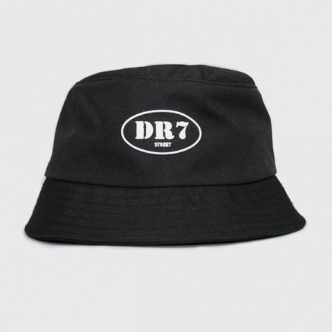Bucket DR7 Logo Circle - Preto