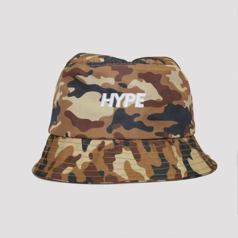 Bucket Hype Camuflado - Marrom