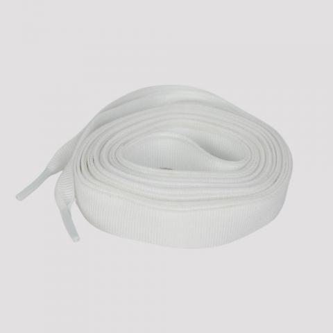 Cadarço DR7 Gorgurão 190 cm - Branco
