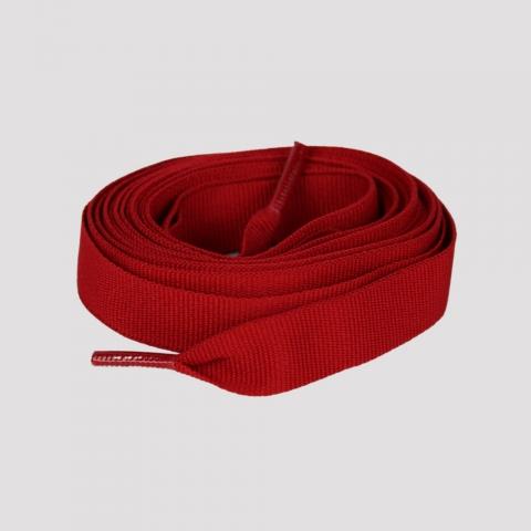 Cadarço DR7 Gorgurão 190 cm - Vermelho