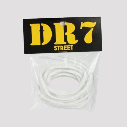 Cadarço DR7 Poliéster - Branco