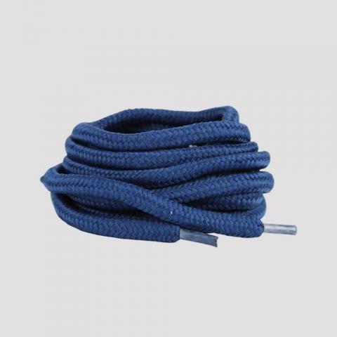 Cadarço DR7 Redondo - Azul Marinho