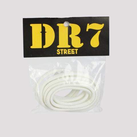 Cadarço DR7 Redondo - Branco