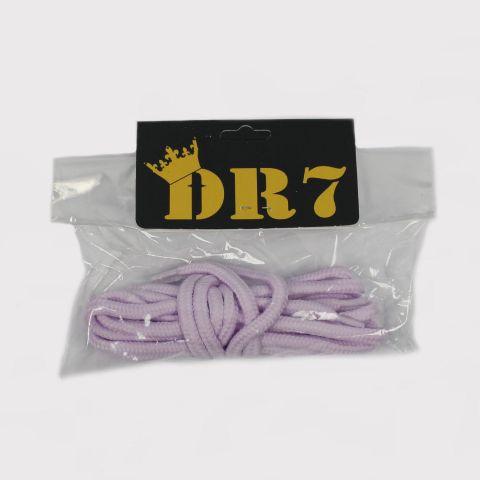Cadarço DR7 Redondo - Lilás