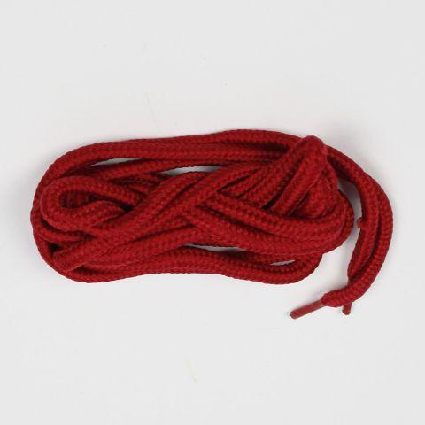 Cadarço DR7 Redondo - Vermelho Sangue