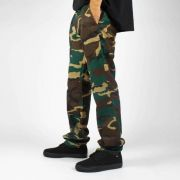 Calça DC Shoes Worker Camuflada Verde