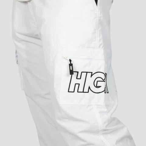 Calça High Cargo Track Pants - White