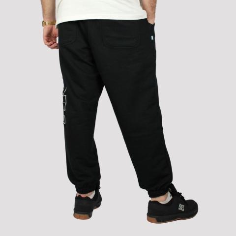Calça High Sweatpants Outline Logo - Black