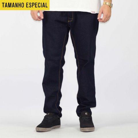 Calça Hocks Usual Jeans Escuro (Tamanho Especial)