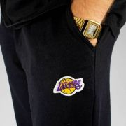 Calça Moletom Mitchell & Ness Lakers Preta