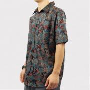 Camisa Blunt Deadreams Preto/Floral