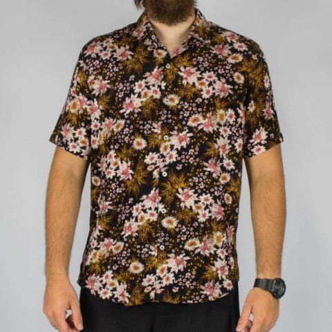 Camisa WR Preta Floral