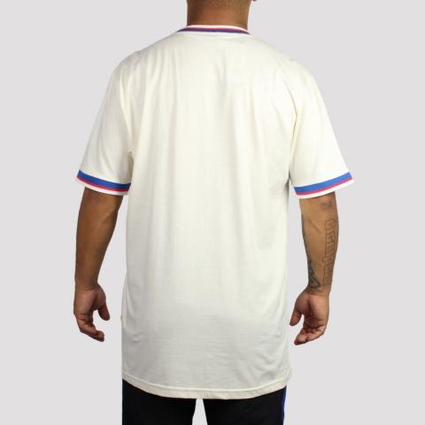 Camiseta Blaze Supply Classic Small Pipe - Off White