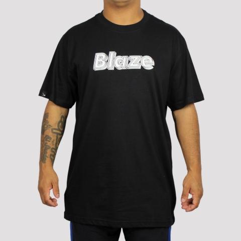 Camiseta Blaze Supply Dimensions - Black