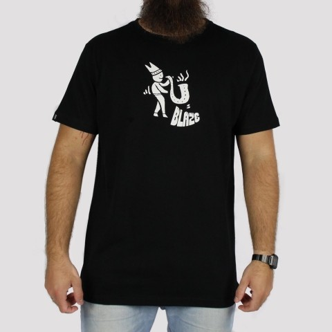 Camiseta Blaze Supply Jazz - Black