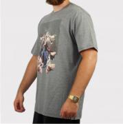Camiseta Blunt Angel Trashmetal Cinza Mescla