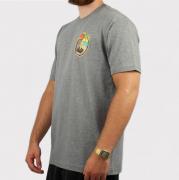 Camiseta Blunt Beach Of Skulls - Cinza Mescla