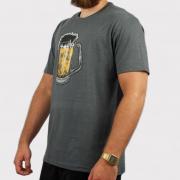 Camiseta Blunt Beer Mescla - Chumbo