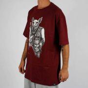 Camiseta Blunt Black Metal Cat Vinho
