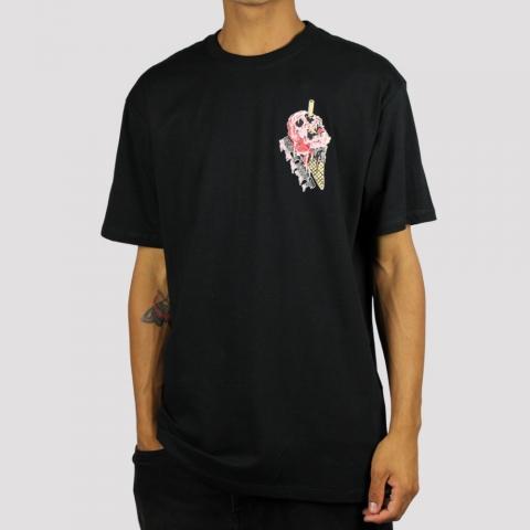 Camiseta Blunt Cream - Preto