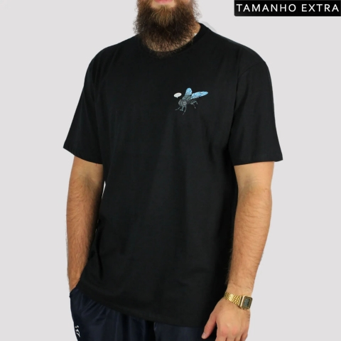 Camiseta Blunt Donut (Tamanho Extra) - Preto