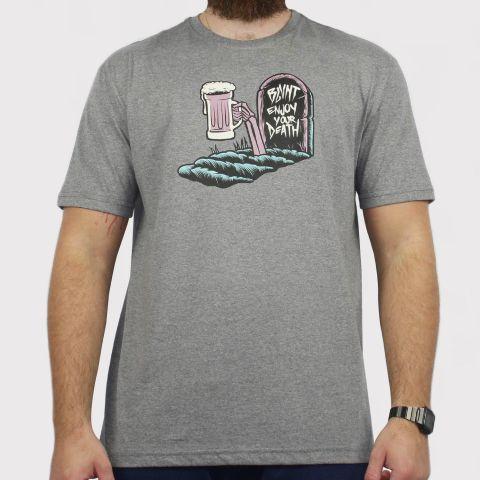 Camiseta Blunt Enjoy - Cinza Mescla