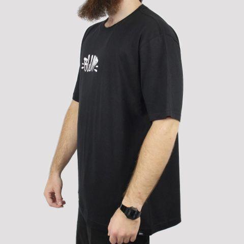Camiseta Blunt Extra Logo (Tamanho Especial) - Preta