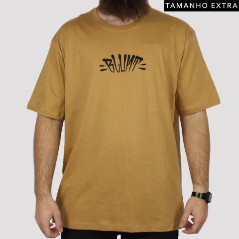 Camiseta Blunt Extra Logo (Tamanho Extra) - Caramelo
