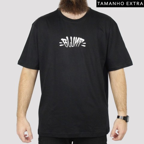 Camiseta Blunt Extra Logo (Tamanho Extra) - Preta