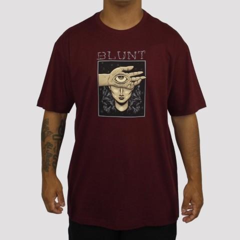 Camiseta Blunt Eye - Vinho