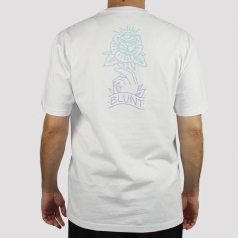 Camiseta Blunt Flower - Branco