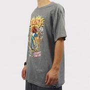 Camiseta Blunt Fuck The World - Cinza