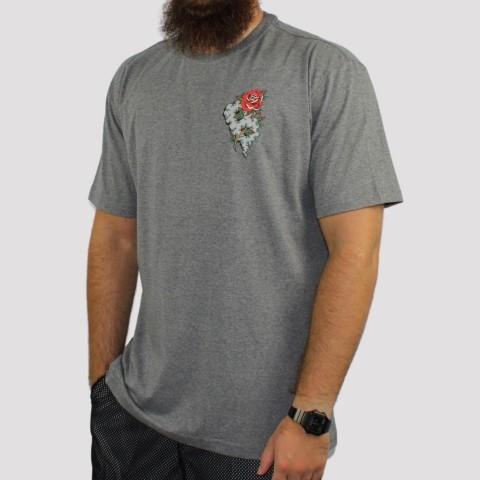 Camiseta Blunt  Fume - Mescla Preto