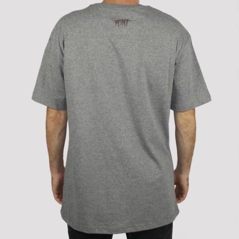 Camiseta Blunt Hand - Mescla Preto