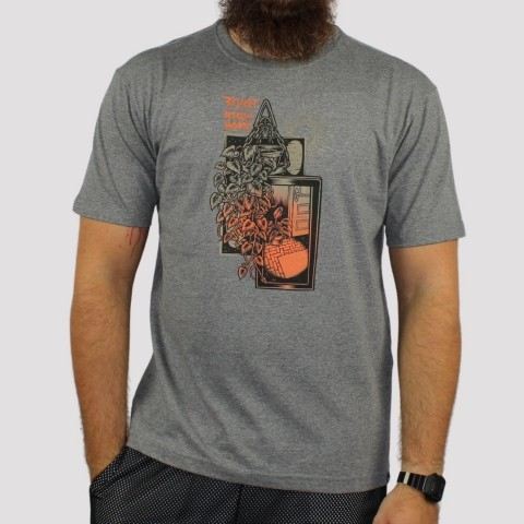 Camiseta Blunt Home - Mescla Preto