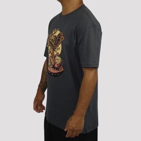 Camiseta Blunt Hybrid - Chumbo