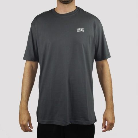 Camiseta Blunt Institucional - Chumbo