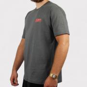 Camiseta Blunt Institucional Mescla - Chumbo