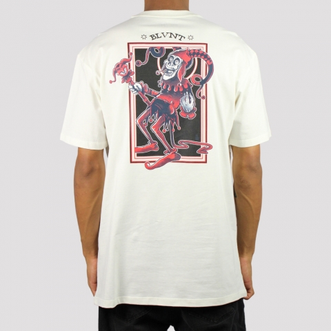 Camiseta Blunt Joker (Tamanho Extra)  - Off White