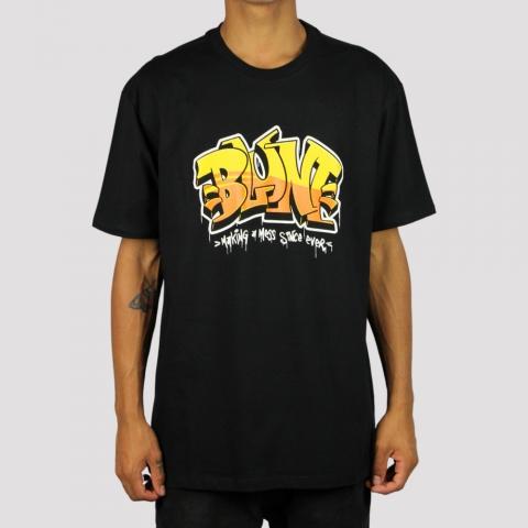 Camiseta Blunt Letter - Preto