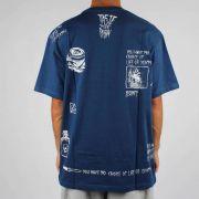 Camiseta Blunt Life Or Death Azul Escuro