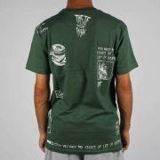 Camiseta Blunt Life Or Death - Verde