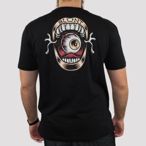 Camiseta Blunt Lips - Preto