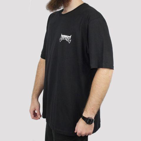 Camiseta Blunt Logo Extra (Tamanho Especial) - Preta