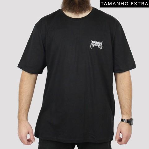 Camiseta Blunt Logo Extra (Tamanho Extra) - Preta